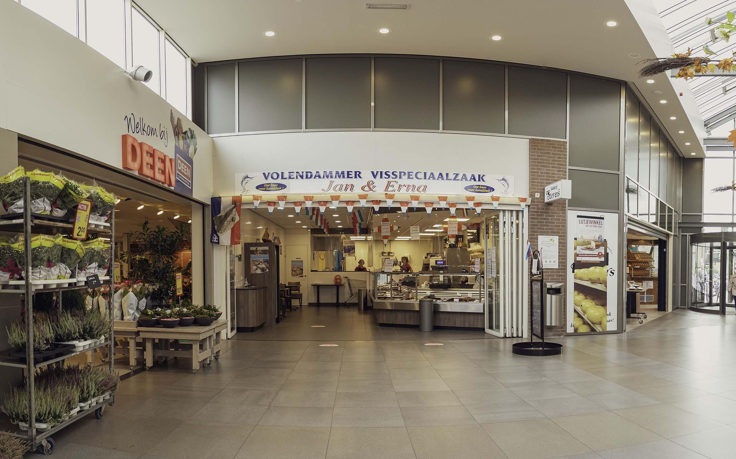 Visspeciaalzaak Jan Erna Winkelcentrum Koperwiekplein